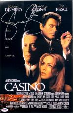 Sharon Stone Autographed Casino 11x17 Movie Poster
