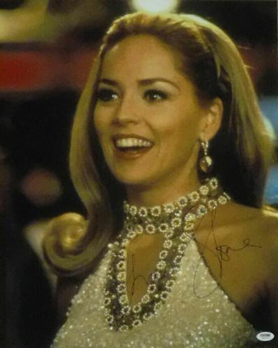 Sharon Stone Autographed/signed Casino 16x20 Photo 16839 (close Up) Psa/dna