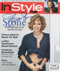 Sharon Stone Signed 1994 In Style Magazine Autographed PSA/DNA #V16102