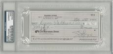 Sharon Stone Signed Authentic Autographed Check Slabbed PSA/DNA #83436355