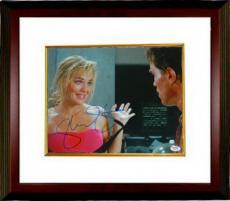 Sharon Stone signed Total Recall Hands Up 11x14 Photo Custom Framed (w/ Arnold Schwarzenegger)- PSA Holo (entertainment/movie)
