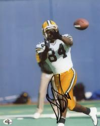 Sterling Sharpe Green Bay Packers Fanatics Authentic Autographed 8'' x 10'' About To Catch Photograph