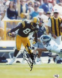 Sterling Sharpe Green Bay Packers Fanatics Authentic Autographed 8'' x 10'' Break Tackle Photograph