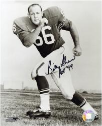 "Billy Shaw Buffalo Bills Autographed 8x10 Photograph with ""HOF 99"" Inscription - Mounted Memories"