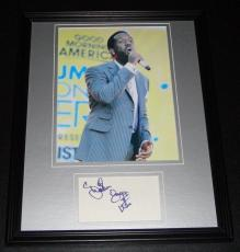 Shawn Stockman Signed Framed 11x14 Photo Display Boyz II Men