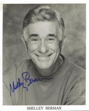 Shelley Berman Signed 8x10 Photo Twilight Zone