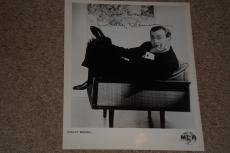 Shelley Berman Signed Autographed Vintage 8x10 Photo Twilight Zone Bewtiched