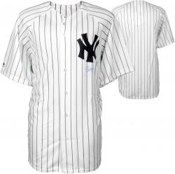 Shelley Duncan New York Yankees Autographed White Pinstripe Jersey - Mounted Memories