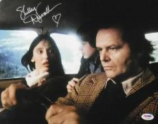 SHELLEY DUVALL AUTOGRAPHED THE SHINING 11X14 PHOTO 14408 w/JACK NICHOLSON PSA