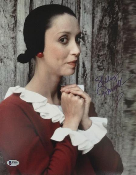 SHELLEY DUVALL Signed Authentic 11x14 Photo POPEYE Olive Oyl Autographed BAS COA