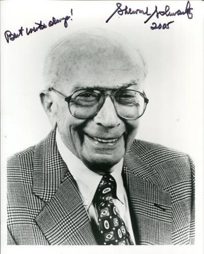 Sherwood Schwartz Brady Bunch Gilligan's Island Creator Signed Autograph Photo