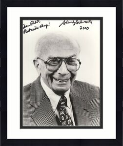 SHERWOOD SCHWARTZ HAND SIGNED 8x10 PHOTO+COA      GILLIGAN'S ISLAND    TO ROBERT