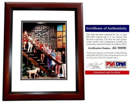 Sherwood Schwartz Signed - Autographed BRADY BUNCH Creator 8x10 Photo - MAHOGANY CUSTOM FRAME - PSA/DNA Certificate of Authenticity (COA)