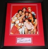 Sherwood Schwartz Signed Framed 11x14 Photo Display Brady Bunch Creator