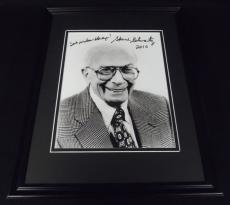 Sherwood Schwartz Signed Framed 8x10 Photo Brady Bunch Creator
