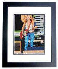 Sheryl Crow Signed - Autographed 11x14 Concert Photo BLACK CUSTOM FRAME - Guaranteed to pass PSA or JSA