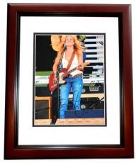 Sheryl Crow Signed - Autographed 11x14 Concert Photo MAHOGANY CUSTOM FRAME - Guaranteed to pass PSA or JSA