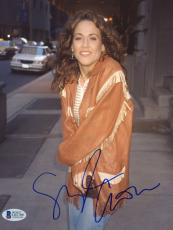 "Sheryl Crow Autographed 8""x 10"" Wearing Leather Jacket Photograph - Beckett COA"