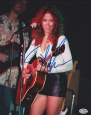 Sheryl Crow Autographed Concert 8x10 Photo