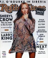 "Sheryl Crow Autographed Signed Rolling Stone Magazine ""To Jeff"" PSA/DNA #V56015"