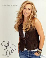 SHERYL CROW HAND SIGNED 8x10 COLOR PHOTO         GORGEOUS SINGER          JSA