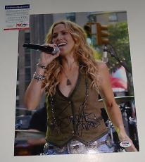 Sheryl Crow signed *All I Wanna Do* Music 11x14 photo PSA/DNA Authentic Y72755
