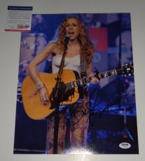 Sheryl Crow signed *All I Wanna Do* Music 11x14 photo PSA/DNA Authentic Y72756