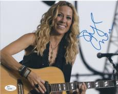 Sheryl Crow Signed Authentic 8x10 Photo Live Performance Jsa Coa