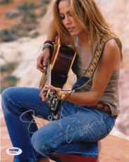 Sheryl Crow signed autographed Music 8x10 Photo PSA/DNA COA authenticated Y35834