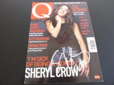 Sheryl Crow Signed Autographed Q Magazine Cover Photo PSA Beckett Guaranteed