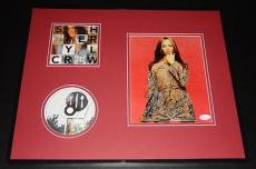 Sheryl Crow Signed Framed 16x20 Photo Poster & CD Display JSA