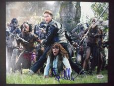 Shia Labeouf & Karen Allen Indiana Jones Psa/dna Signed Autographed 11x14 Photo