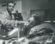 Shirley Eaton Signed 007 Goldfinger Autographed 8x10 Photo (PSA/DNA) #V90588