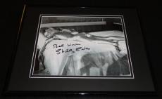 Shirley Eaton Signed Framed 8x10 Photo AW James Bond Girl Goldfinger