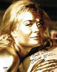 Shirley Eaton Signed James Bond 007 Authentic 8x10 Photo PSA/DNA #X22905
