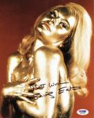 Shirley Eaton Signed James Bond 007 Goldfinger Authentic 8x10 Photo PSA/DNA COA