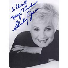 Shirley Jones Autographed 5x7 postcard