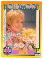 Shirley Jones autographed Hollywood Walk of Fame trading card Partidge Family