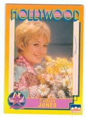Shirley Jones autographed trading card (Partridge Family Elmer Gantry) 1991 Hollywood Walk of Fame #131