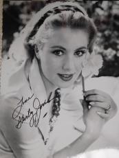 SHIRLEY JONES HAND SIGNED 11x14 LARGE PHOTO+COA       YOUNG+BEAUTIFUL ACTRESS