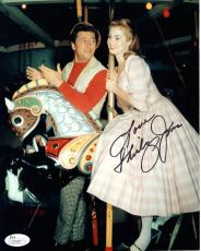 SHIRLEY JONES HAND SIGNED 8x10 COLOR PHOTO      YOUNG+LOVELY ACTRESS      JSA