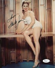 SHIRLEY JONES HAND SIGNED 8x10 COLOR PHOTO         YOUNG+SEXY ACTRESS       JSA