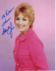 SHIRLEY JONES HAND SIGNED 8x10 COLOR PHOTO+COA      PARTRIDGE FAMILY     TO DAVE