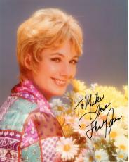 SHIRLEY JONES HAND SIGNED 8x10 COLOR PHOTO+COA     PARTRIDGE FAMILY      TO MIKE