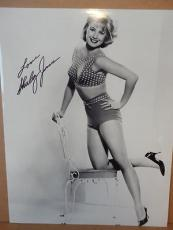 SHIRLEY JONES HAND SIGNED OVERSIZED 11x14 PHOTO+COA        YOUNG+BEAUTIFUL POSE