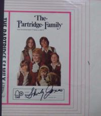 "Shirley Jones Music Legend Signed Autograph"" Partridge Family"" Record Sleeve Coa"