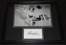 Shirley Jones SEXY Signed Framed 11x14 Photo Display Partridge Family B