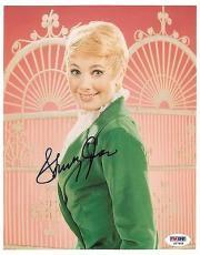 Shirley Jones Signed Authentic Autographed 8x10 Photo (PSA/DNA) #S67808