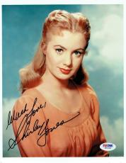 Shirley Jones Signed Authentic Autographed 8x10 Photo PSA/DNA #W71269