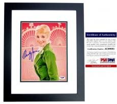 Shirley Jones Signed - Autographed The Partridge Family 8x10 inch Photo with PSA/DNA Certificate of Authenticity (COA) BLACK CUSTOM FRAME